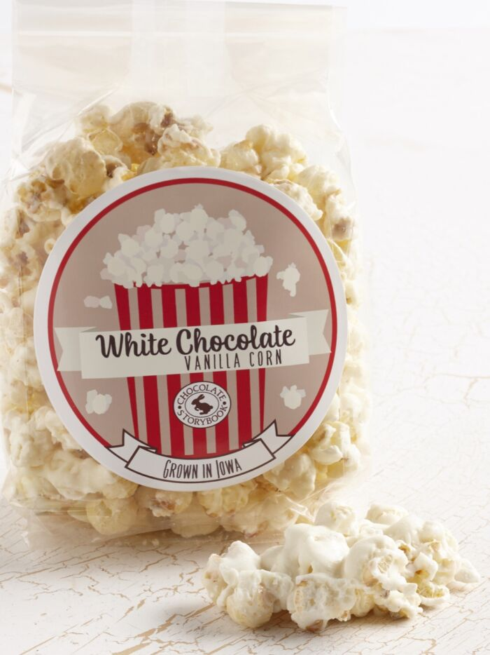 White Chocolate Vanilla Popcorn