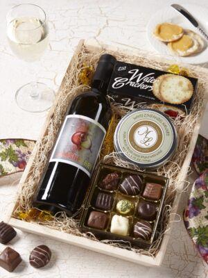 White Wine & Chocolate Gift Box