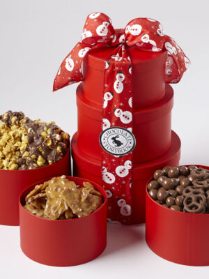 Triple Threat Chocolate Tower