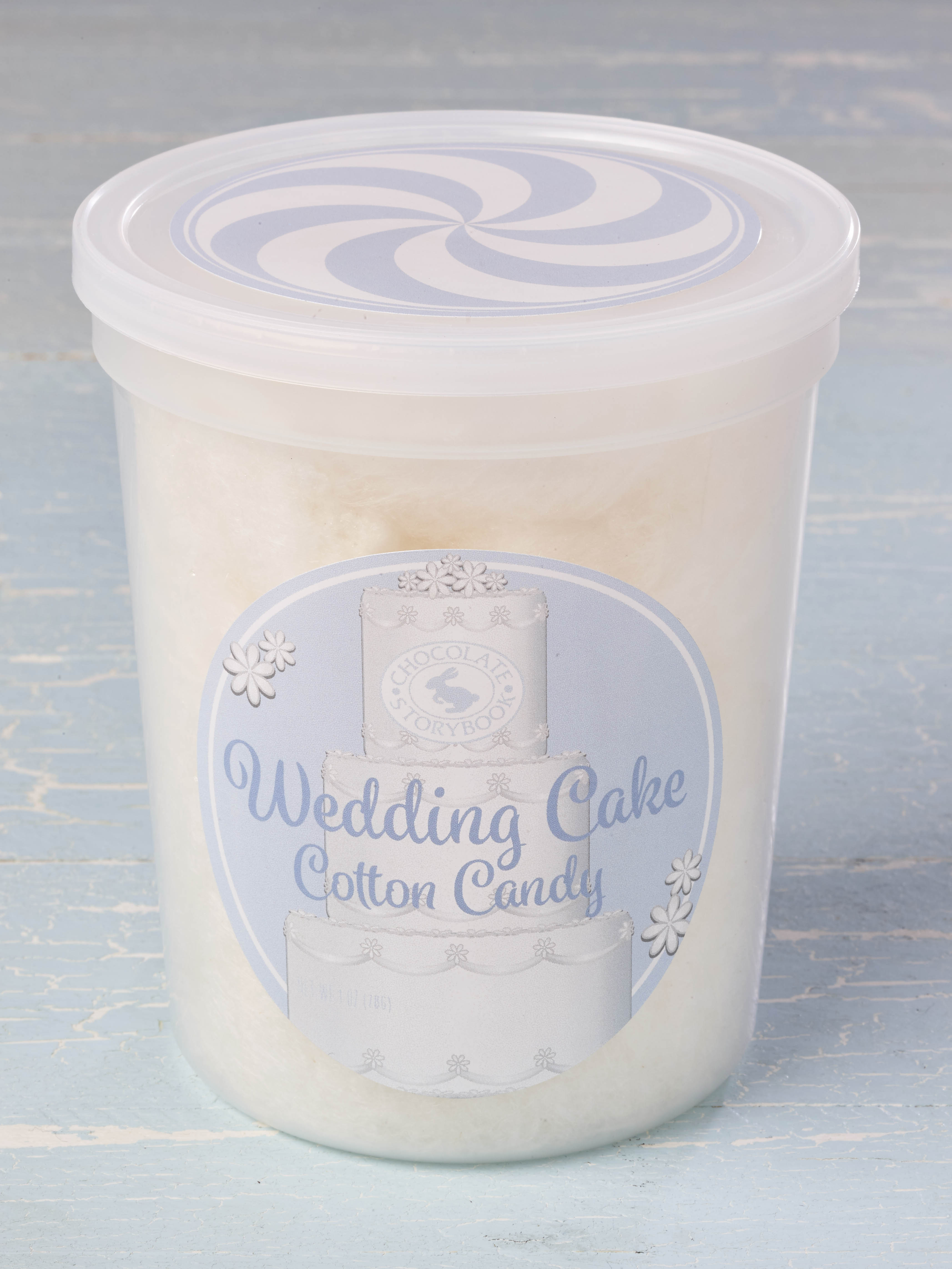Wedding Cake Cotton Candy | Custom, Handmade Chocolates & Gifts by ...