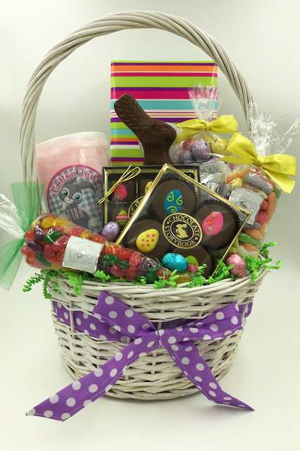 Family easter basket custom handmade chocolates gifts by family easter basket 11000 negle Choice Image