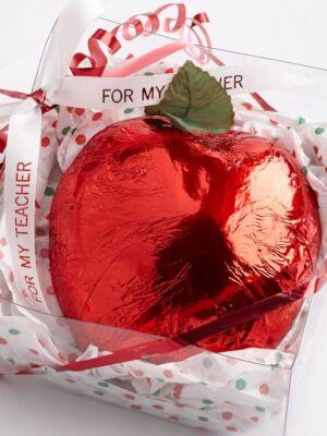 Foiled Teacher Apple